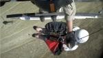 Helikopter spasavao par u Kaliforniji od napada krave i teleta