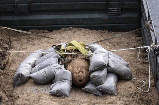 Bomba neprimećeno putovala 480 kilometara