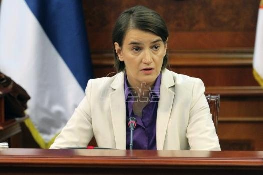 Brnabić: Ne želim da se mešam u odluku Er Srbije