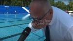 Vesić pio vodu iz javnog bazena da bi dokazao njen kvalitet (VIDEO)