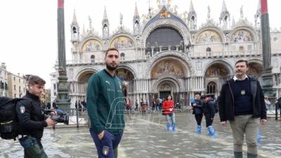 Ponovo otvoren Trg Svetog Marka u Veneciji, voda i dalje ...