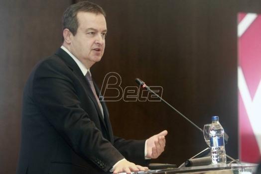 Dačić: Izjave Rame, Tačija i Muslijua su opasne, a ne neoprezne
