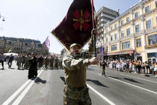 Nezvanična parada u Kijevu povodom dana nezavisnosti