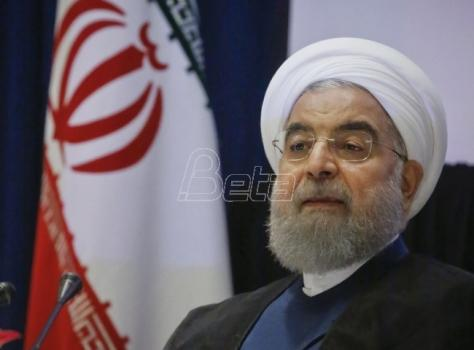 Rohani: Iran će osnažiti vojne kapacitete uprkos kritikama