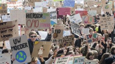 Belgijski djaci opet pobegli iz škole da protestuju zbog ...