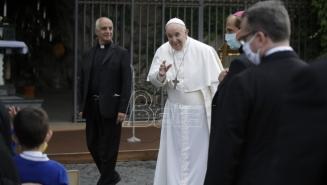 Papa Franja izgovorio posebnu molitvu za kraj pandemije korona virusa
