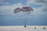Prvi svemirski turisti kompanije Spejseks vratili se uspešno na Zemlju (VIDEO)