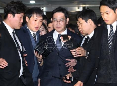 Sud odobrio hapšenje naslednika Samsunga