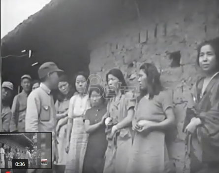 Objavljen prvi snimak seksualnih robinja iz Drugog svetskog rata (VIDEO)