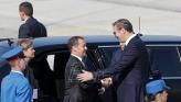 Medvedev stigao u Beograd:  Pružićemo svaku pomoć Srbiji u očuvanju teritorijalnog suvereniteta i integriteta