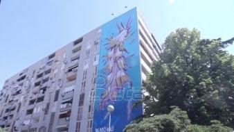 U Splitu predstavljen mural od 300 kvadrata za 12-milimetraskog morskog puža (VIDEO)