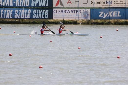 Pajić i Holpert osvojili srebrnu medalju u trci na 500 metara