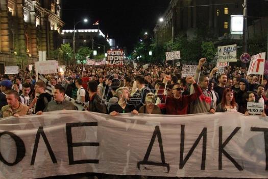Mladi u Subotici: Okupljamo se i dalje i istrajni smo