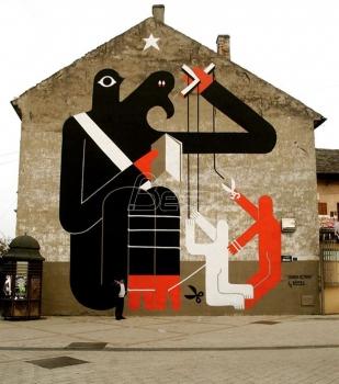 Gradjani Novog Sada negoduju zbog krečenja murala