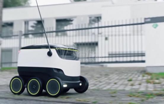 Roboti isporučuju hranu u Vašingtonu (VIDEO)