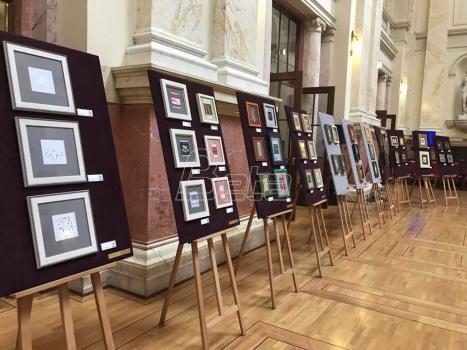 Izložba rukotvotina žena u Skupštini Srbije