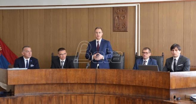 Stefanović: Ne znam kada će biti poznato ime novog premijera (VIDEO)