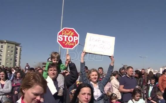 Stanari naselja Stepa Stepanović održali još jedan protest