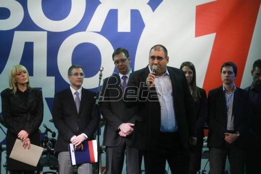 Djukanović (SNS) podržao intervenciju protiv novinara i gradjana na skupu pristalica Vučića