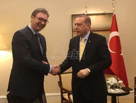 Vučić: Erdogan će posetiti Beograd 10. oktobra