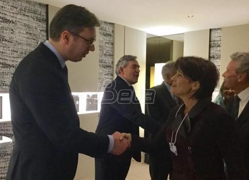 Vučić razgovarao s predsednicom Švajcarske konfederacije