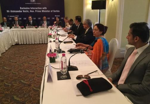 Vučić sa indijskim privrednicima o ulaganjima