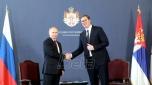 Putin završio posetu Srbiji: Potpisani sporazumi, Vučiću uručen orden Aleksandra Nevskog (VIDEO)